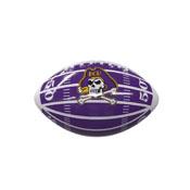 East Carolina Field Mini-Size Glossy Football