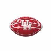 Houston Field Mini-Size Glossy Football