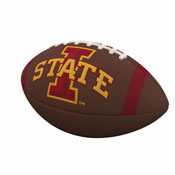 IA State Team Stripe Official-Size Composite Football