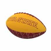 IA State Repeating Mini-Size Rubber Football