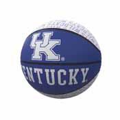 Kentucky Repeating Logo Mini-Size Rubber Basketball