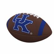 Kentucky Team Stripe Full-Size Composite Football