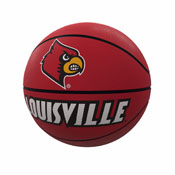 Louisville Mascot Official-Size Rubber Basketball