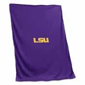 LSU Sweatshirt Blanket