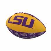 LSU Repeating Mini-Size Rubber Football