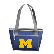 Michigan Crosshatch 16 Can Cooler Tote