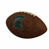 MI State Official-Size Vintage Football