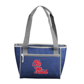 Ole Miss Crosshatch 16 Can Cooler Tote
