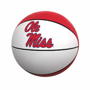 Ole Miss Official-Size Autograph Basketball