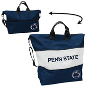 Penn State Crosshatch Expandable Tote
