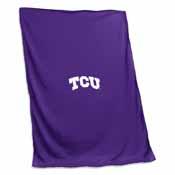 TCU Sweatshirt Blanket