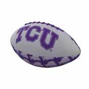 TCU Repeating Mini-Size Rubber Football