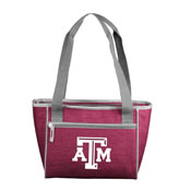 TX A&M Crosshatch 16 Can Cooler Tote