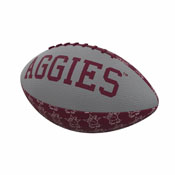 TX A&M Repeating Mini-Size Rubber Football