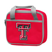 Texas Tech University Red Lunch Box f/ Primary Logo