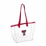 TX Tech Stadium Clear Tote