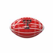 TX Tech Field Mini-Size Glossy Football