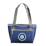 Seattle Mariners Crosshatch 16 Can Cooler Tote