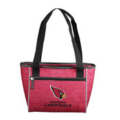 Arizona Cardinals Crosshatch 16 Can Cooler Tote
