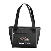 Baltimore Ravens Crosshatch 16 Can Cooler Tote