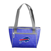 Buffalo Bills Crosshatch 16 Can Cooler Tote
