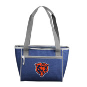 Chicago Bears Crosshatch 16 Can Cooler Tote