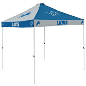 Detroit Lions 2017 Logo Checkerboard Canopy