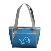 Detroit Lions 2017 Logo Crosshatch 16 Can Cooler Tote