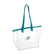 Miami Dolphins Stadium Clear Tote