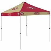 San Francisco 49ers Checkerboard Tent