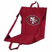 San Francisco 49ers Stadium Seat