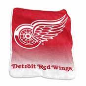 Detriot Red Wings Raschel Throw