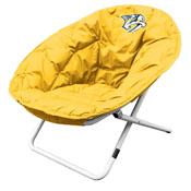 Nashville Predators Yellow Sphere Chair