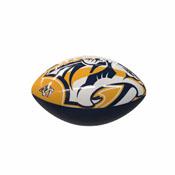 Nashville Predators Oversize Logo Mini-Size Glossy Football