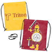 Triton College Doubleheader Backsack