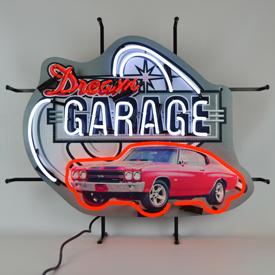 Dream Garage Chevy Chevelle Ss Neon Sign