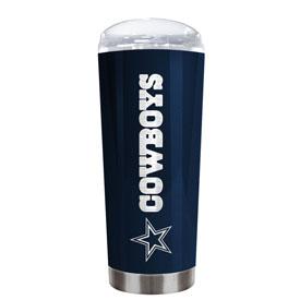 Dallas Cowboys 20 Oz. Stainless Steel Travel Tumbler Metallic Graphics