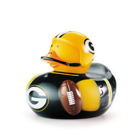 """Green Bay Packers Rubber Duck 4"""""""