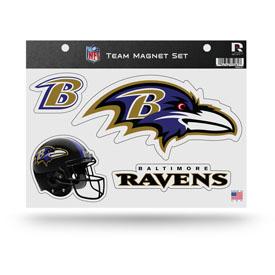 Balitmore Ravens Magnet Set 3 Piece