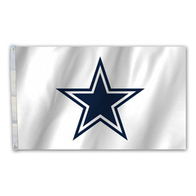 Dallas Cowboys 3 Ft. X 5 Ft. Flag With Grommetts