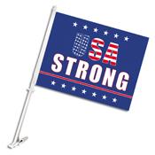 USA StrongCar Flag