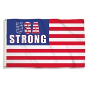 USA Strong3 Ft. X 5 Ft. Flag W/Grommets
