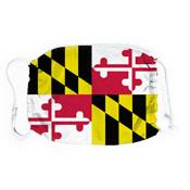 Maryland Flag Face Mask