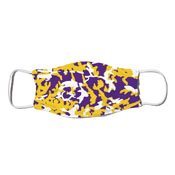 Face Mask - Camo Colors Purple & Gold 2-15