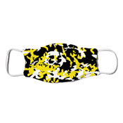 Face Mask - Camo Colors Black & Gold 2-24
