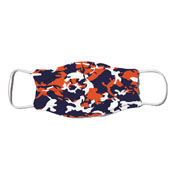 Face Mask - Camo Colors Blue & Orange 2-45