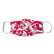 Face Mask - Camo Colors Red & Gray 2-55