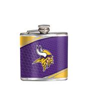Minnesota Vikings Stainless Steel 6 oz. Flask with Metallic Graphics