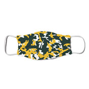 Face Mask - Camo Colors Green & Yellow 4-16