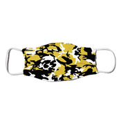 Face Mask - Camo Colors Black & Gold 4-26